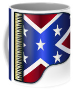 Grand Piano Confederate Flag Coffee Mug