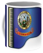 Grand Piano Idaho Flag Coffee Mug