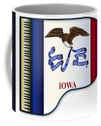 Grand Piano Iowa Flag Coffee Mug