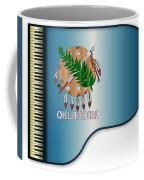 Grand Piano Oklahoma Flag Coffee Mug