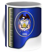 Grand Piano Utah Flag Coffee Mug