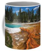 Grand Prismatic Spring Coffee Mug by Mae Wertz
