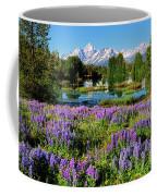 Grand Teton Lovely Lupines Coffee Mug by Greg Norrell