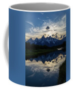 Grand Teton Sunset Coffee Mug by Michael Chatt