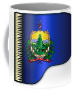 Grand Vermont Flag Coffee Mug