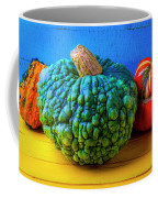 Graphic Autumn Pumpkins And Gourds Coffee Mug