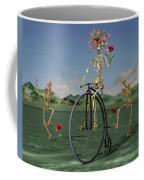 Grateful Dancing Cheer Skeletons Coffee Mug