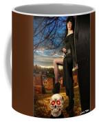 Grave Sunset Coffee Mug