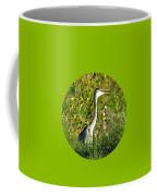 Great Blue Gulp Round Coffee Mug