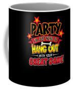 Great Dane Dog Party Coffee Mug