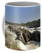 Great Falls On The Potomac Panorama  Coffee Mug