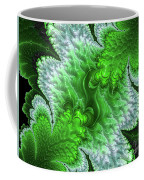 Green Frosty Canyon Coffee Mug