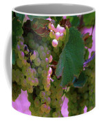 Green Grapes On The Vine 12 Coffee Mug