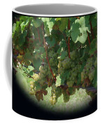 Green Grapes On The Vine 16 Coffee Mug
