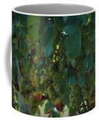 Green Grapes On The Vine 4 Coffee Mug