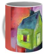Green House- Art By Linda Woods Coffee Mug