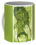 Green Thumb Cheek Girl Coffee Mug