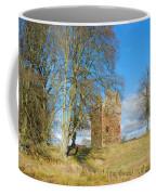 Greenknowe Tower In Late Winter Sun Scottish Borders Coffee Mug