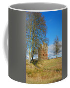 Greenknowe Tower In Winter Sun, Scottish Borders Coffee Mug