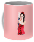 Hairdresser Woman Shooting A Cool Haircut In Style Coffee Mug