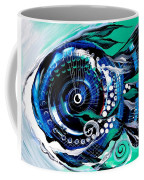 Half Smile Break The Ice Fish Coffee Mug