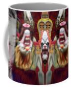 Halloween Scary Clown Heads Mirrored Coffee Mug