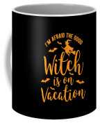 Halloween Shirt Good Witch On Vacation Gift Tee Coffee Mug