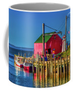 Halls Harbour Nova Scotia Coffee Mug