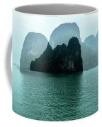 Halong Bay Mountains, Vietnam Coffee Mug