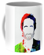 Hank Moody Watercolor Coffee Mug