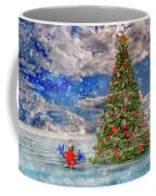Happy Christmas Parrot Coffee Mug