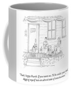 Happy Fourth Coffee Mug