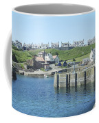 harbour at St. Abbs, Berwickshire Coffee Mug