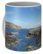harbour entrance at St. Abbs, Berwickshire Coffee Mug