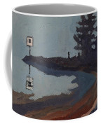 Harmony Beach Fog And Rain Coffee Mug