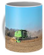 Harvesting Soybeans Coffee Mug
