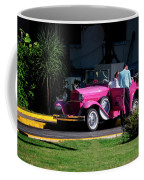 Havana Taxi Coffee Mug by Tom Singleton