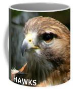 Hawks Mascot 2 Coffee Mug