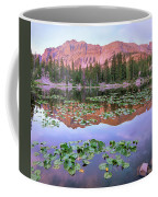 Hayden Peak And Butterfly Lake, Uinta Coffee Mug