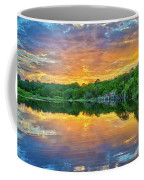 Heavenly Reflections In The Hill Country Coffee Mug