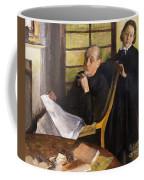 Henri Degas And His Niece Lucie Degas Coffee Mug
