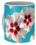 Hibiscus Flower Pattern Coffee Mug