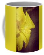 Hibiscus Yellow Coffee Mug