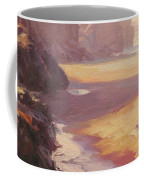 Hidden Path To The Sea Coffee Mug by Steve Henderson