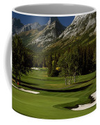 High Angle View Of A Golf Course, Mt Coffee Mug