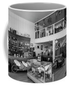 Hindsman General Store - Allensworth State Park - Black And White Coffee Mug