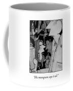 His Monogram Says It Coffee Mug