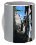 historic cobbled lane in Beilstein Germany Coffee Mug