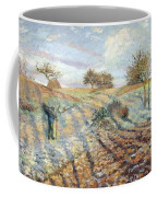 Hoarfrost At Ennery, 1873 Coffee Mug