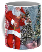 Holiday Hippo Dancing Cheer Coffee Mug